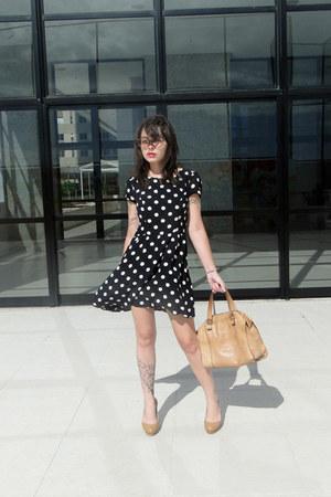 Top Shop dress - Dumond bag