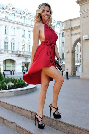 red Manuella L dress