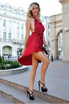 red Manuella L dress