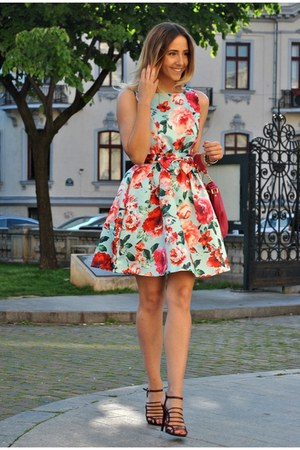 light blue Shopbop dress