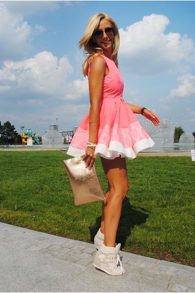 bubble gum AXPAris dress