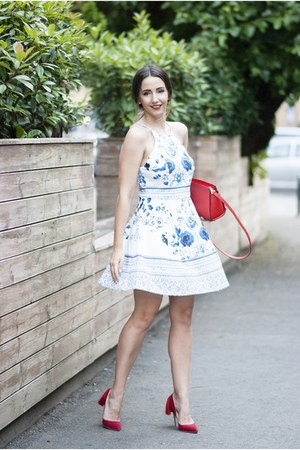 white romwe dress