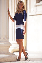 navy Raluca Martinescus collection dress