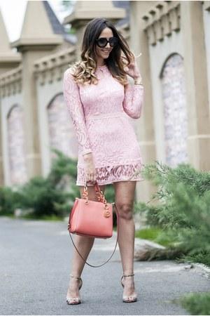 light pink Light in the box dress - neutral AmiClubWear sandals