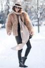 Black-jessica-buurman-boots-nude-shopbop-coat-camel-choies-hat