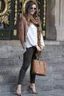 Brown-guess-jacket-burnt-orange-michael-kors-bag-black-miu-miu-sunglasses