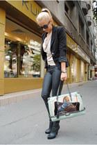 Bershka pants - H&M blazer