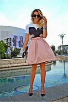 peach OASAP skirt