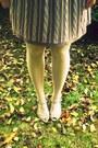 Periwinkle-target-tights-light-purple-thrifted-skirt-black-target-cardigan