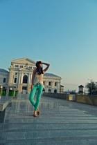 deichman shoes - deichman hat - meli melo bag - Zara blouse - New Yorker pants