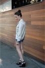 Black-fergalicious-shoes-blue-7fam-that-i-cut-up-shorts-white-thrifted-blous