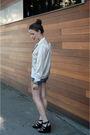 Black-fergalicious-shoes-blue-7fam-that-i-cut-up-shorts-white-thrifted-blous