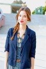 Blue-jumpsuit-lulus-jumper-navy-urban-outfitters-blazer