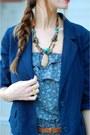 Blue-jumpsuit-lulus-jumper-navy-urban-outfitters-blazer