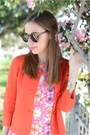 Silver-wedges-shoemint-shoes-coral-audrey-dress-red-jcrew-jacket