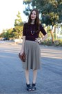 Maroon-knit-banana-republic-sweater-brown-leather-george-gina-and-lucy-bag