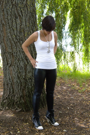 top - leggings - shoes - accessories