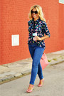 Navy-zara-jeans-bubble-gum-topshop-heels
