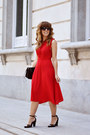 Red-shein-dress