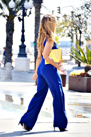 blue Zara suit