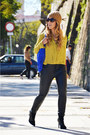 Black-zara-boots-black-zara-pants-mustard-h-m-blouse