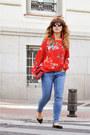 Red-shein-shirt