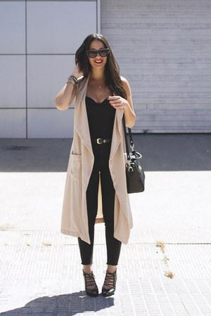 H&M blazer - Marypaz bag - asos sunglasses - Stradivarius sandals