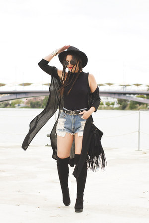 Marypaz boots - Zara shirt - pull&bear cape - Primark belt