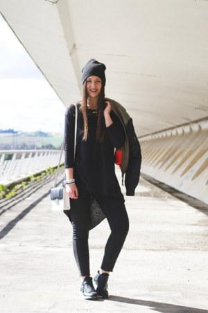 H&M jacket - Zara shirt - Carolina Boix sneakers
