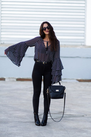 Carolina Boix boots - Marypaz bag - asos sunglasses - pull&bear pants
