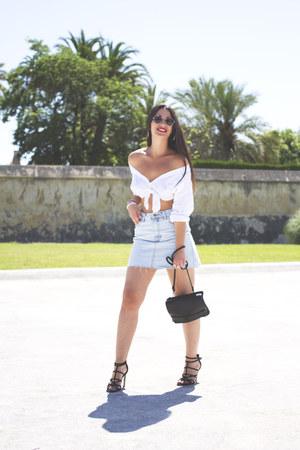 asos sunglasses - pull&bear skirt