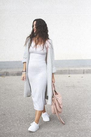 double agent dress - H&M blazer - xti bag - Yumas sneakers
