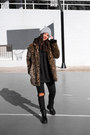 Dresslily-boots-zaful-coat-zara-hat-maray-alvarez-shop-sweatshirt