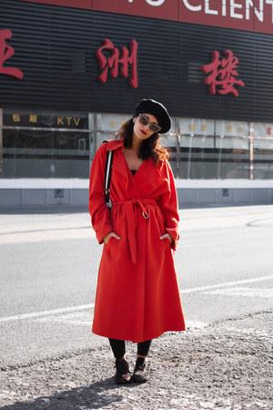 H&M coat - Zara bag - slowwalk sneakers