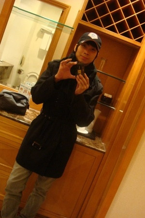 jack & jones coat - Walmart scarf - Cheap Monday pants - nike hat