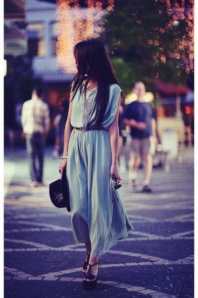 aquamarine Schwing schwing dress