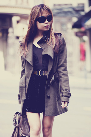 Topshop coat - Forever 21 skirt