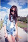 Sky-blue-jacket-sky-blue-vintage-levis-shorts