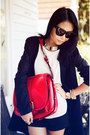 Black-coat-red-bag