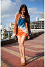 Burnt-orange-grettta-steve-madden-shoes-camel-asos-blazer-blue-top