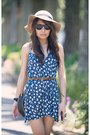 Blue-asos-dress-black-jeffrey-campbell-shoes-tan-dior-bag