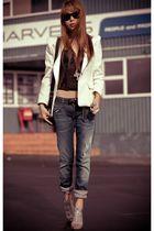 blue Hudson jeans