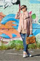 VJ Style bag - Sheinside jumper