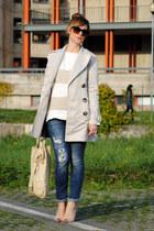 nellcom heels - Zara coat