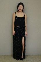 black crosses skirt La Petite Mademoiselle skirt