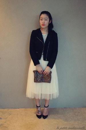 eggshell tulle skirt La Petite Mademoiselle skirt