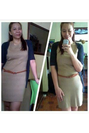 dress - blazer