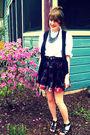 Thrifted-blouse-forever-21-skirt