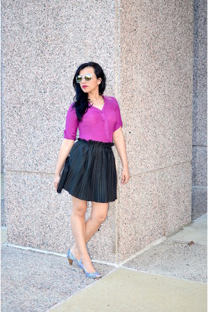 Choies skirt - Kenneth Cole shoes