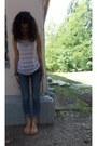 Blanco-jeans-bershka-top